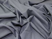 English 100% Wool Suiting Dress Fabric  Grey