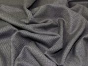 Italian Wool, Cotton & Silk Blend Suiting Dress Fabric  Brown
