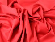 Italian 100% Wool Twill Suiting Dress Fabric  Red