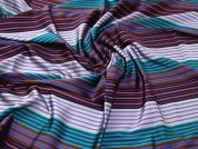 Woven Shirting Fabric  Multicoloured