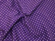 Cotton Sateen Fabric  Purple