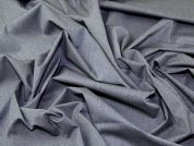 Portuguese Poly Viscose Stretch Suiting Dress Fabric  Grey