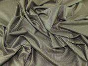 Portuguese Poly Viscose Stretch Suiting Dress Fabric  Olive Green