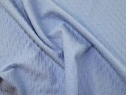 Textured Jersey Knit Fabric  Sky Blue