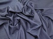 Twill Weave Polyester Suiting Dress Fabric  Indigo
