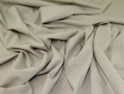 Stretch Wool Suiting Fabric  Stone
