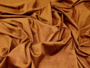 Faux Suede Knit Fabric  Tan Brown