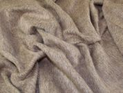 Wool Mohair Alpaca Coating Fabric  Oatmeal