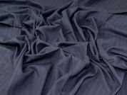 Linen Viscose Cotton Fabric  Blue