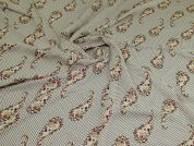 Polyester Georgette Fabric  Cream