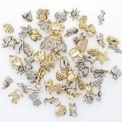 Novelty Assorted Buttons  Gold & Silver