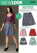 New Look Ladies Easy Learn to Sew Sewing Pattern 6004 Skirts