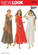 New Look Ladies Easy Sewing Pattern 6229 Maxi Length Summer Dresses