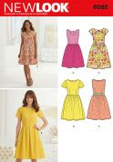 New Look Ladies Easy Sewing Pattern 6262 Summer Dresses