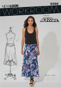 New Look Ladies Sewing Pattern 6269 A Line Skirts in 2 Lengths