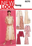 New Look Ladies Easy Sewing Pattern 6270 Dresses, Long & Short Jackets & Bag