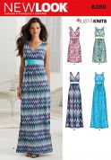 New Look Ladies Easy Sewing Pattern 6280 Stretch Knit Summer Dresses