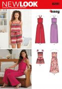 New Look Ladies Easy Sewing Pattern 6291 Jumpsuits & Dresses