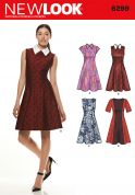 New Look Ladies Easy Sewing Pattern 6299 Panelled Dresses in 4 Styles