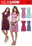 New Look Ladies Sewing Pattern 6322 Fitted Dresses in 4 Styles