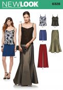 New Look Ladies Sewing Pattern 6328 Tops, Skirts & Trouser Pants
