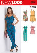 New Look Ladies Easy Sewing Pattern 6373 Jumpsuits & Dresses