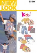 New Look Childrens Easy Sewing Pattern 6398 Casual Wardrobe