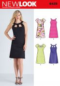 New Look Ladies Sewing Pattern 6429 Dresses in 4 Styles