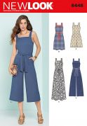 New Look Ladies Sewing Pattern 6446 Jumpsuits & Dresses