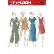 New Look Ladies Sewing Pattern 6468 Dresses & Jumpsuits