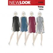 New Look Ladies Easy Sewing Pattern 6469 Jersey Knit Dresses
