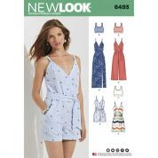New Look Ladies Sewing Pattern 6493 Jumpsuits & Dresses