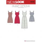 New Look Ladies Sewing Pattern 6509 Rompers & Dresses
