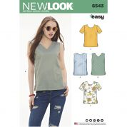 New Look Sewing Pattern 6543