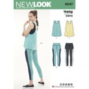 New Look Sewing Pattern 6547