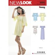 New Look Sewing Pattern 6550