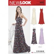 New Look Sewing Pattern 6551