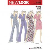 New Look Sewing Pattern 6554