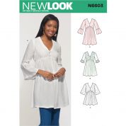 New Look Sewing Pattern 6603