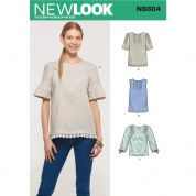 New Look Sewing Pattern 6604