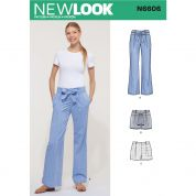 New Look Sewing Pattern 6606