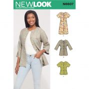 New Look Sewing Pattern 6607