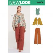 New Look Sewing Pattern 6608