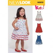 New Look Sewing Pattern 6610