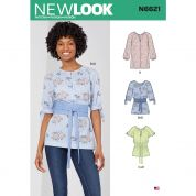 New Look Sewing Pattern 6621