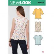 New Look Sewing Pattern 6622