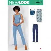 New Look Sewing Pattern 6627