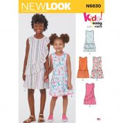 New Look Sewing Pattern 6630