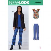 New Look Sewing Pattern 6645