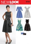 New Look Ladies Sewing Pattern 6723 Evening Dresses & Clutch Bag